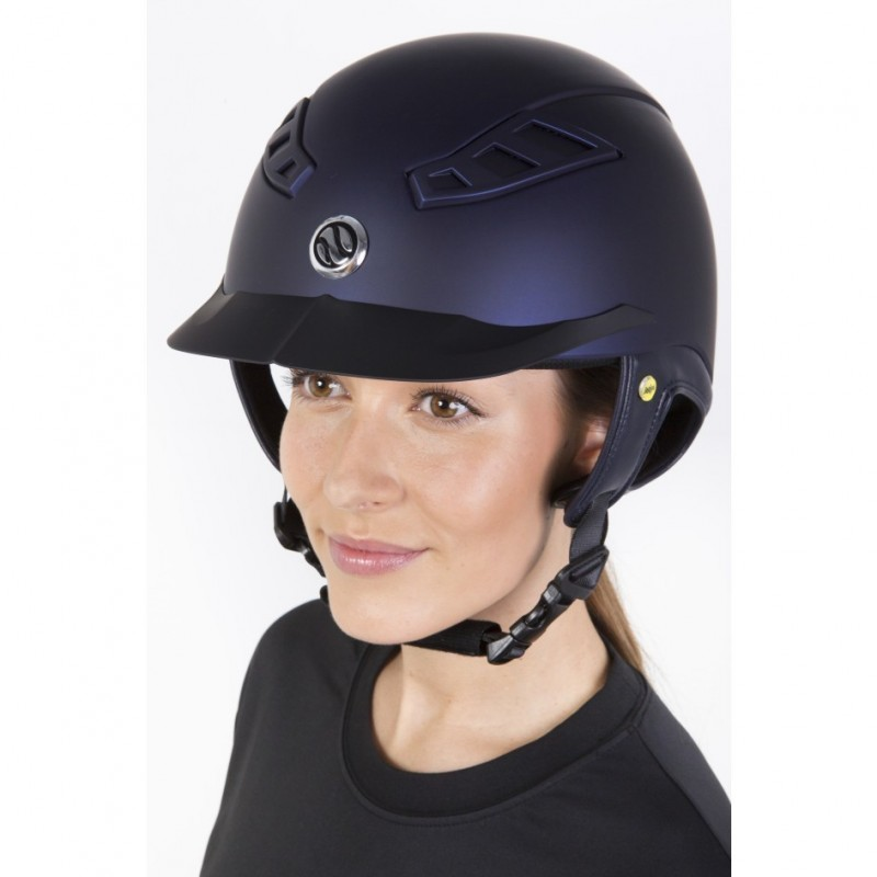 Back on Track® Riding Helmet EQ3 Lynx Smooth Top