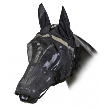 Horse Guard Flymask with nose