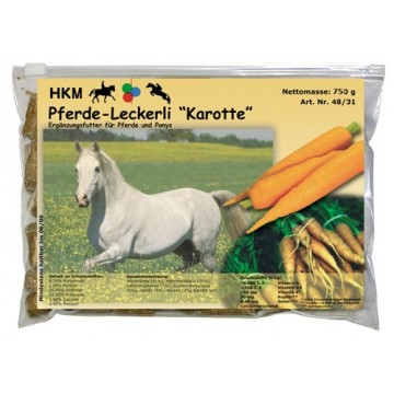 HKM Carrot flavour treats 750 g