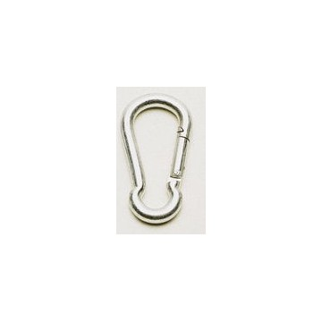Safety spring hook 100mm