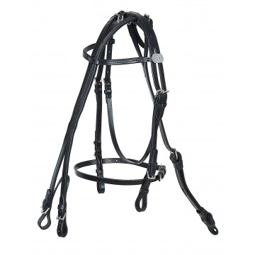 W-Bridle, leather