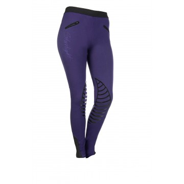 HKM riding leggings, lilac