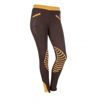 HKM riding leggings, dark brown