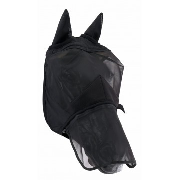 Horse Guard fly mask with removabe nose, inc. uv-filtter