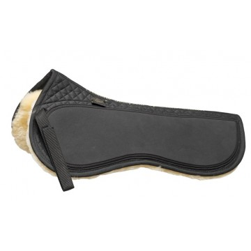 HC Premium sheepskin half pad with rubber panel