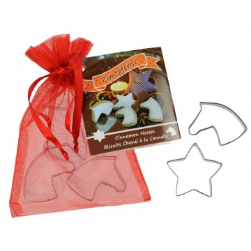 Cookie Cutter Set - Horse and Stars
