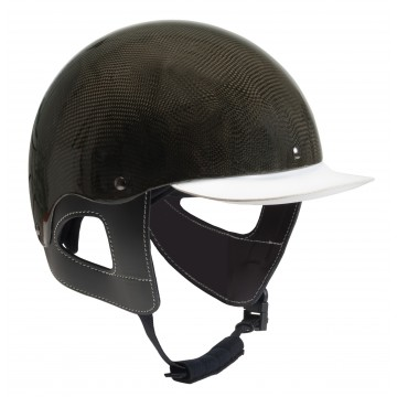 W-Carbon trotting helmet