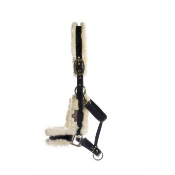 Kentucky Nylon Sheepskin Halter