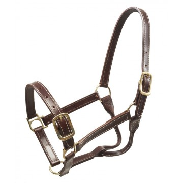 Wahlsten W-Profile Leather Halter