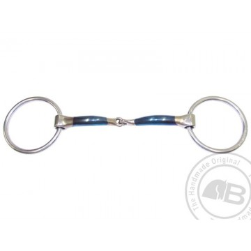 Bombers Lock Up Loose Ring Snaffle