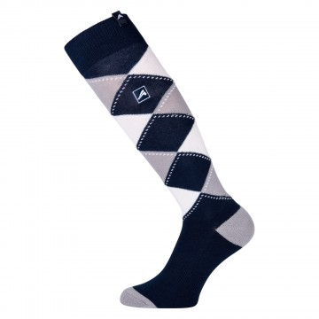 Euro-Star Checked Socks Polygiene